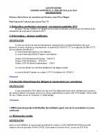 Conseil Municipal du 21 juillet 2014