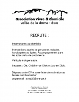 Affiche recrutement
