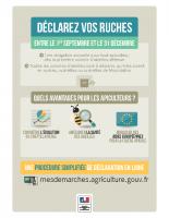 Affiche de-claration de ruches