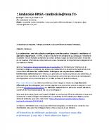 Ambroisie RNSA