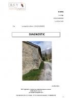 DIAGNOSTIC sur chapelle de Borne